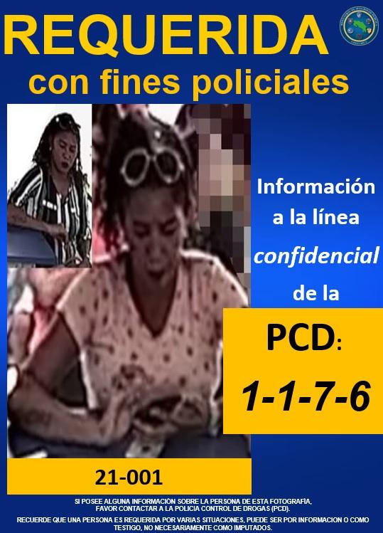 PCD requiere a estas personas con fines policiales