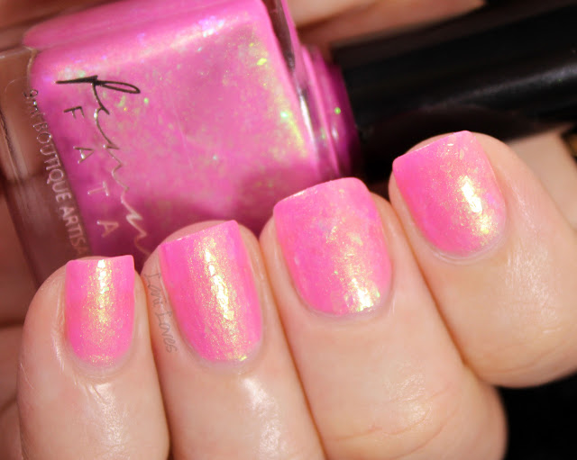 Femme Fatale Crown of Ribbons Nail Polish Swatches & Review