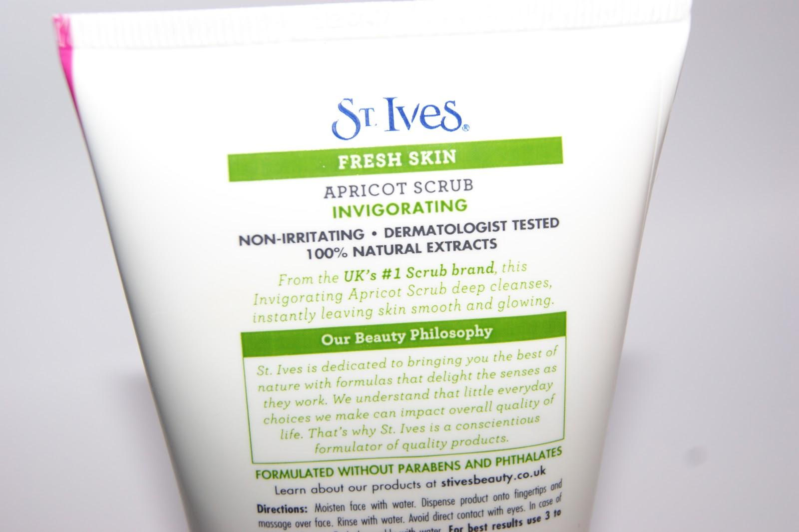 St Ives Bright Skin Apricot Scrub
