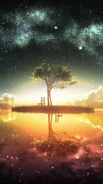 yıldızlar ve su