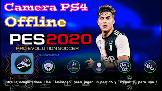 PES 2020 PPSSPP Camera PS4 Android Offline Best Graphics New Kits 2020 & Transfers Update