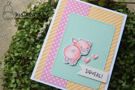 Squeal by Jess features Oink and Frames & Flags by Newton's Nook Designs; #newtonsnook