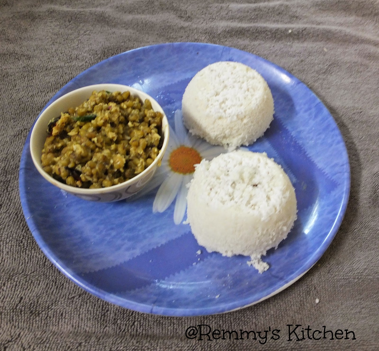 Puttu/ Rice puttu/Easy method to make soft rice puttu