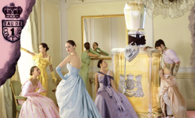 Marie Antoinette pastel Rococo style ad by Tim Walker