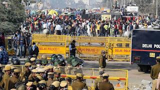 national news farmer protest