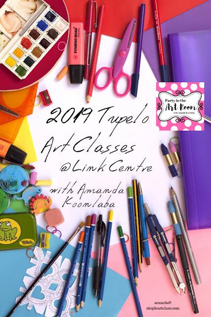 tupelo art classes