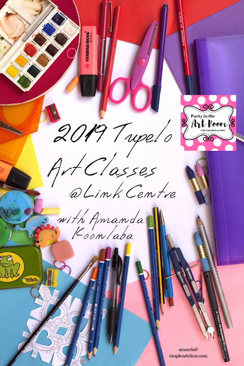 2019 Art Class Curriculum and News