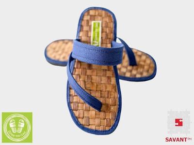 Banig Slant Strap Fit Flops (Unisex)