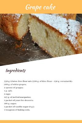 cake grapes glutefree lactosefree recipe
