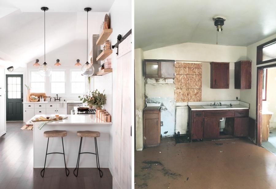 Niesamowita metamorfoza stuletniego domu, wystrój wnętrz, wnętrza, urządzanie mieszkania, dom, home decor, dekoracje, aranżacje, kuchnia, kitchen