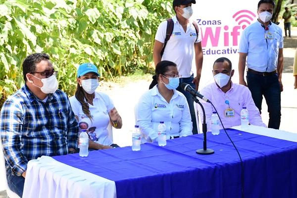 Gobierno de Tete Samper entregó zona Wi-Fi educativas y la plataforma Educándote