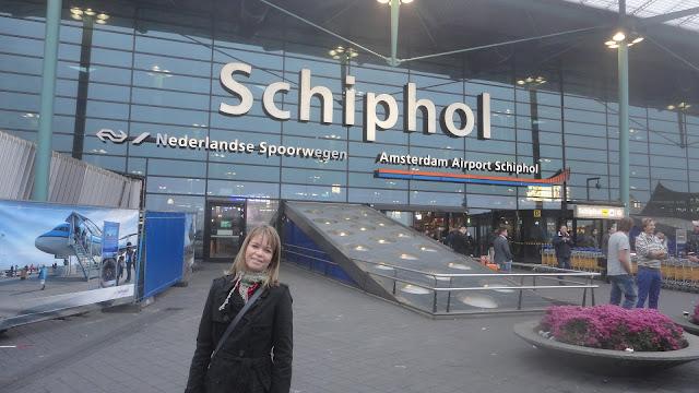 Aeroporto Internacional Schiphol Amsterdam Holanda
