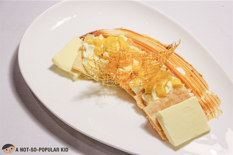 Mango Mascarpone Dessert of Bistro Manuel
