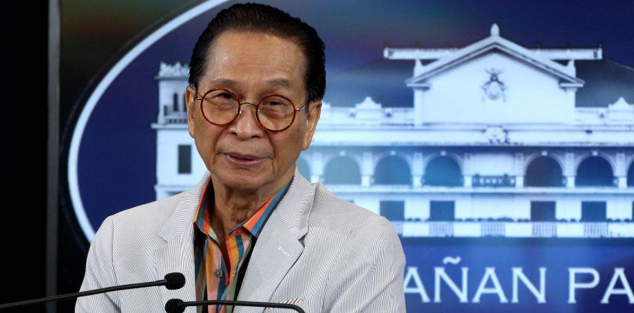 Presidential chief  legal counsel Salvador Panelo