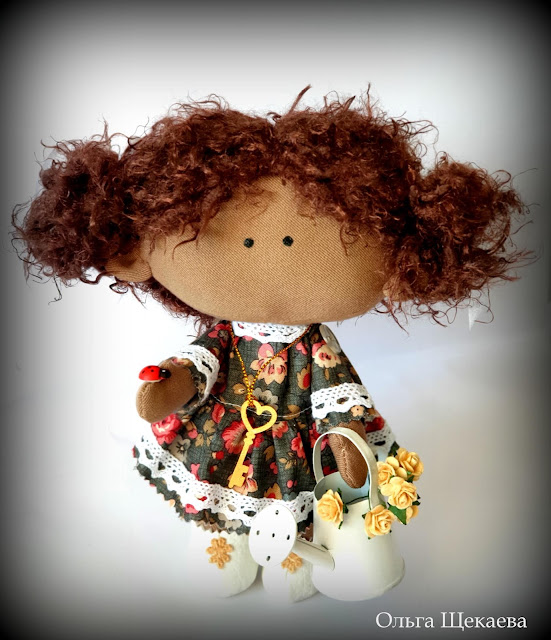 кукла, интерьерная, ручнаяработа,