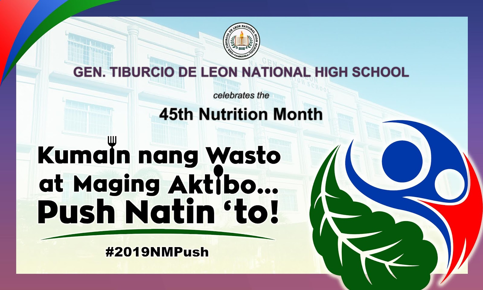 The Journey Of A Brave Teacher Nutrition Month 2019