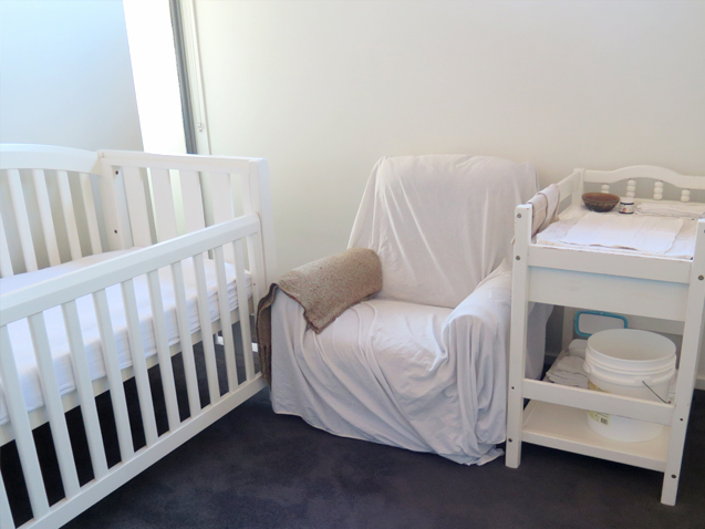 The baby room zero waste mum