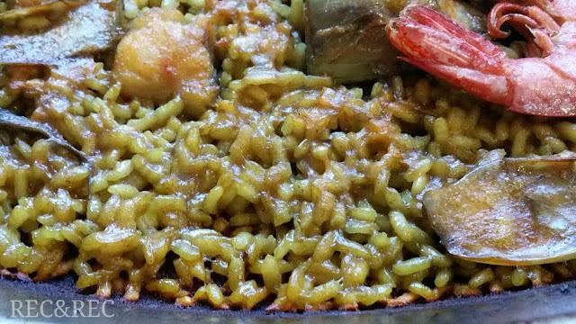 textura del arroz