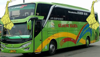 Harga Tiket Lebaran 2016 Bus Gunung Harta