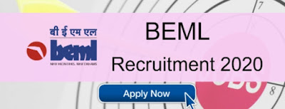 BEML Recruitment 2020: Apply for Chairman & Managing Director Vacancies - 3,70,000 Salary - Apply Now