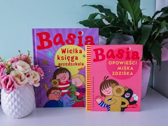 Czytam dziecku | Basia. Wielka księga przedszkola oraz Opowieści Miśka Zdziśka
