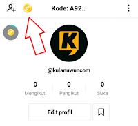 Profile Akun Tiktok Lite