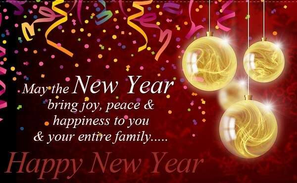 Happy New Year : Best Happy New Year Whatsapp DP Images