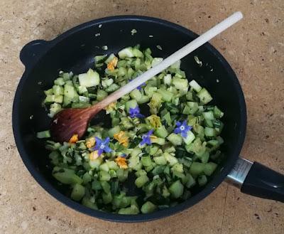 Zucchini-Gemüse