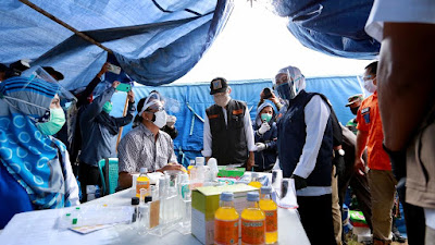 Klaster Ponpes Darussalam Banyuwangi Dikawal Ketat, Gubernur Khofifah Terjung Langsung ke Lokasi