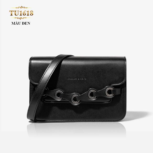 Túi xách màu đen đeo chéo nhỏ xinh luôn lôi quấn chị em