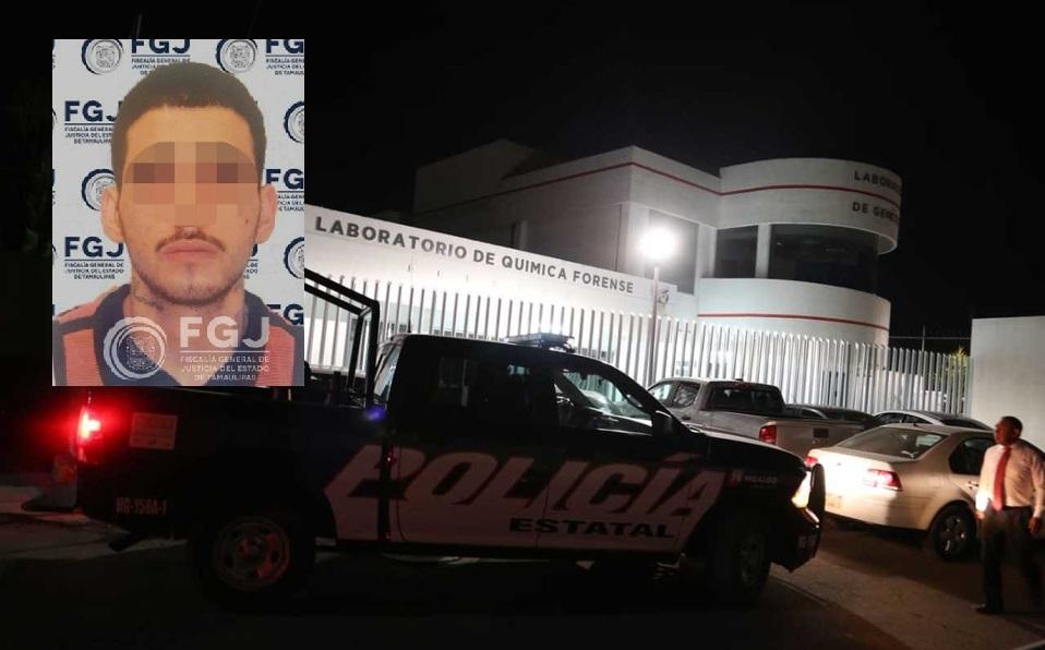 """Sitian Policías el SEMEFO de Hidalgo donde se encuentra el cuerpo de """"El Takia"""" Ex Líder del Cártel del Noreste"""