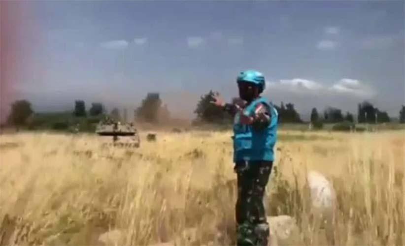 TNI hadang tank israel