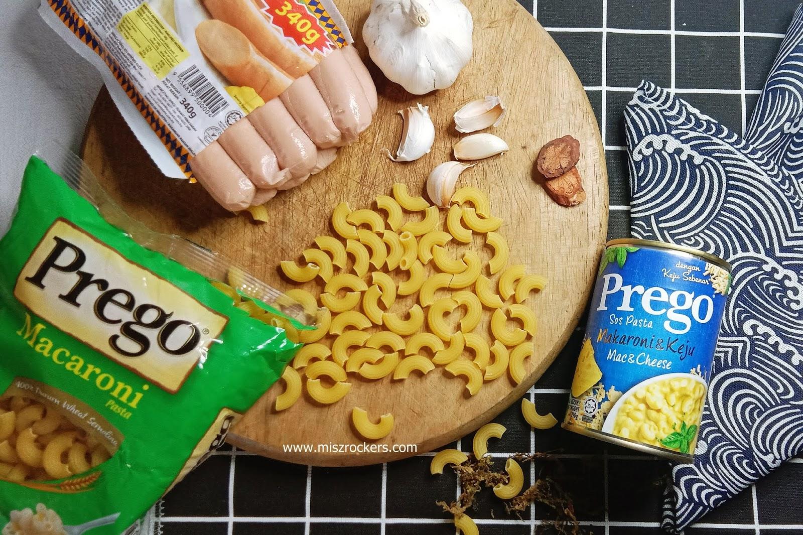 Prego Sos Pasta Makaroni Dan Keju Yang Pekat Dan Sedap