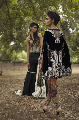 Nida Azwer Summer Dresses.