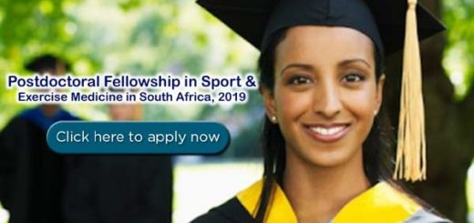 Postdoctoral Fellowship in Sport & Exercise Medicine at Stellenbosch University in South Africa
