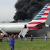 Plane Goes Up In Flames At Chicago Airport