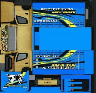 Download Livery Truck Bakul Sapi/adol sapi