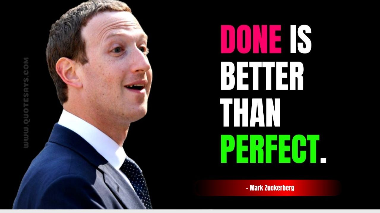 Inspirational Quotes by Mark Zuckerberg