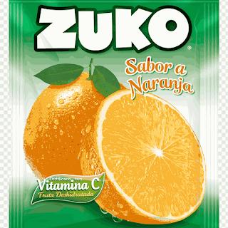 Bột Cam Zuko Bổ Sung Vitamin C Orange Flavor Drink Hàng Xách Tay Mỹ