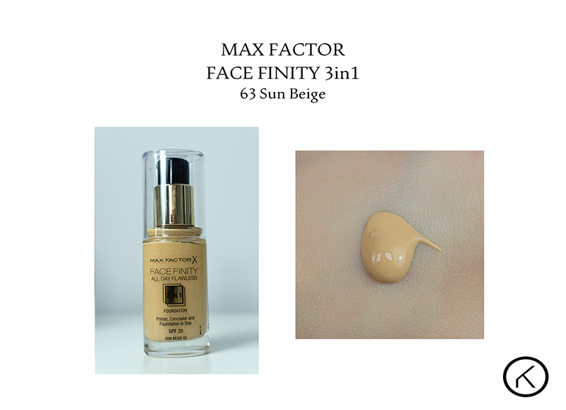 Max Factor Face Finity 3in1 63 sun beige  klik