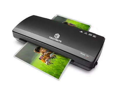 TECHBITE Rugged Thermal Cold Laminator | Best Laminating Machines for Home Office Use in India