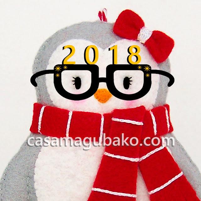 Penguin Ornament by casamagubako.com