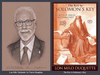 Lon Milo DuQuette. The Key to Solomon's Key. Ordo Templi Orientis. OTO. Thelema. by Travis Simpkins