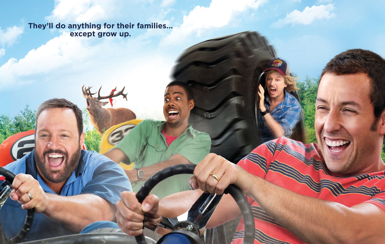 Buddies Of 'Grown Ups 2' Up For More Sheenanigans | The Film Geek Guy