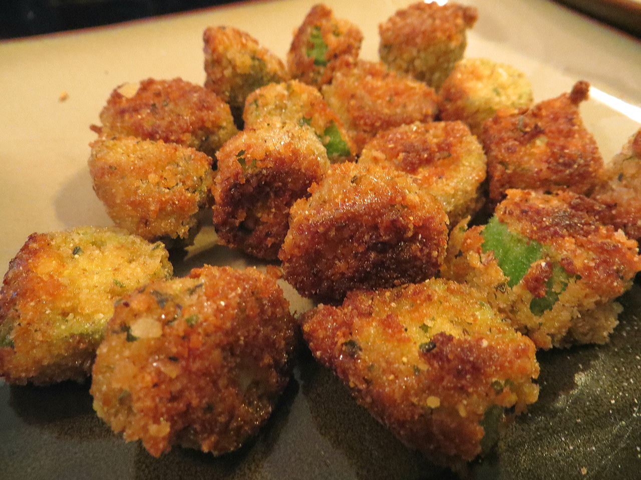Fried Okra Bite