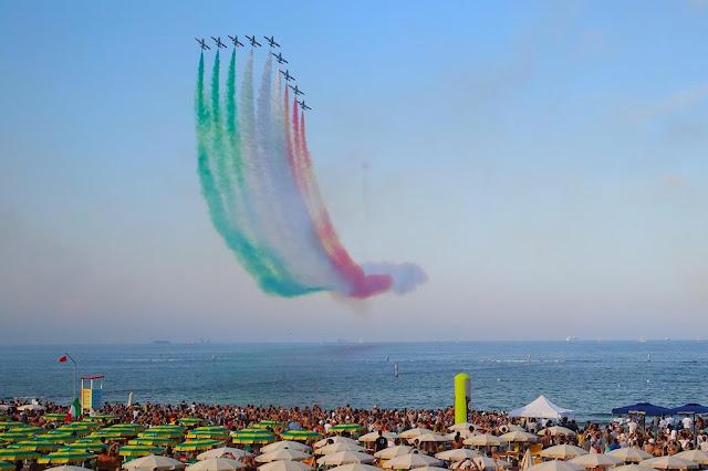 Frecce Tricolori Punta Marina Ravenna