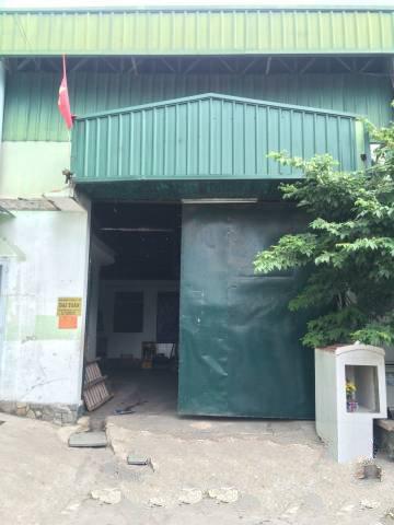 Cho thuê xưởng 1100m2 phường Tân Thới Hiệp Q12