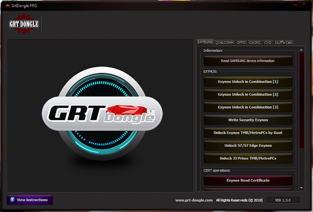 GRT Dongle Version 1.3.0 Crack Version Free Download