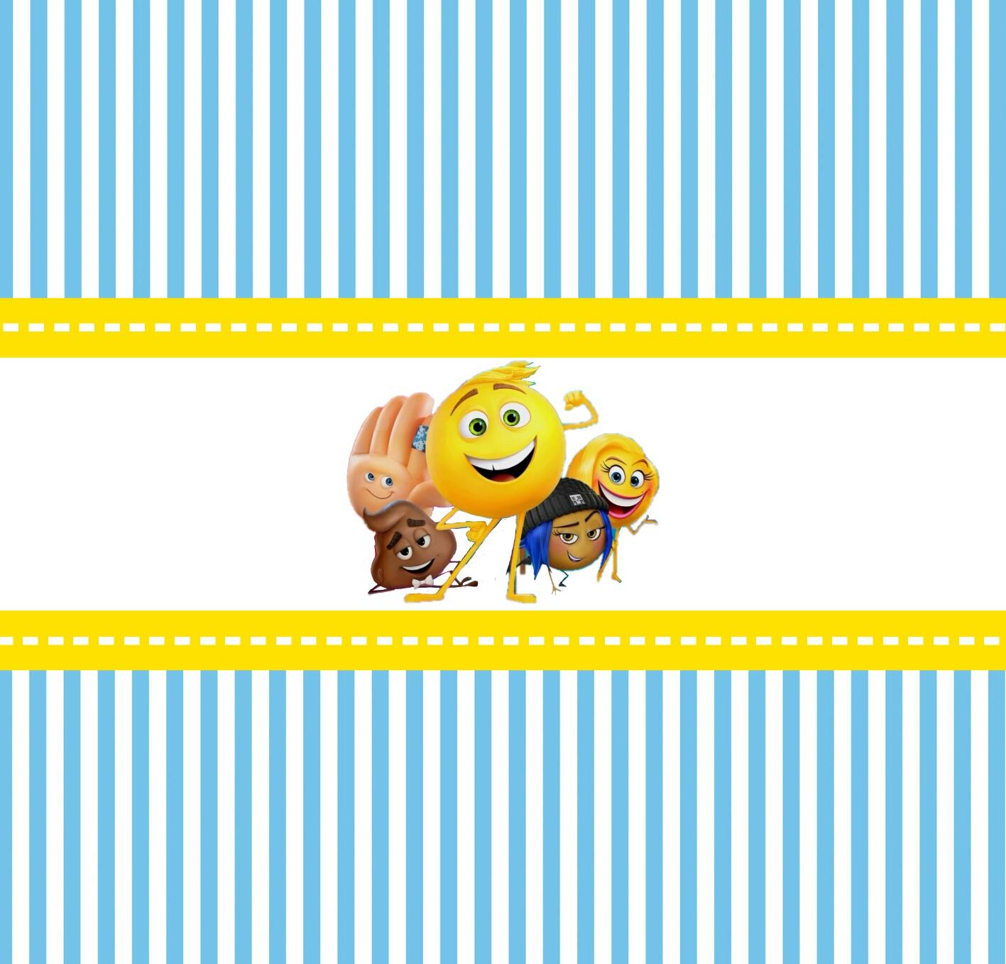 Emoji Tarjetas O Invitaciones Para Imprimir Gratis Oh My