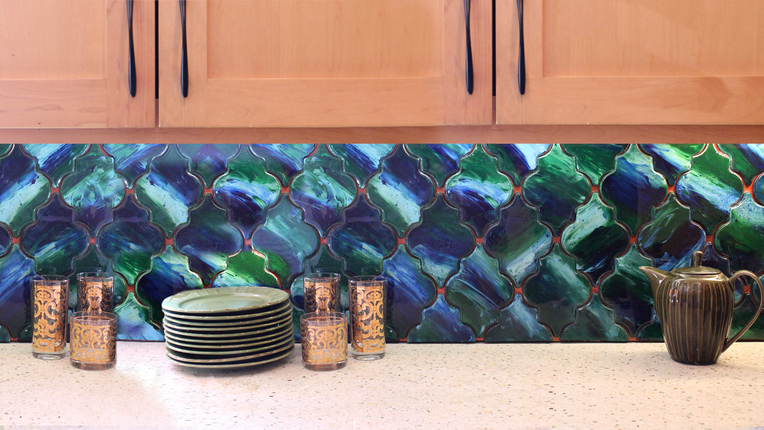 Mark Montano Unicorn Spit Backsplash Diy
